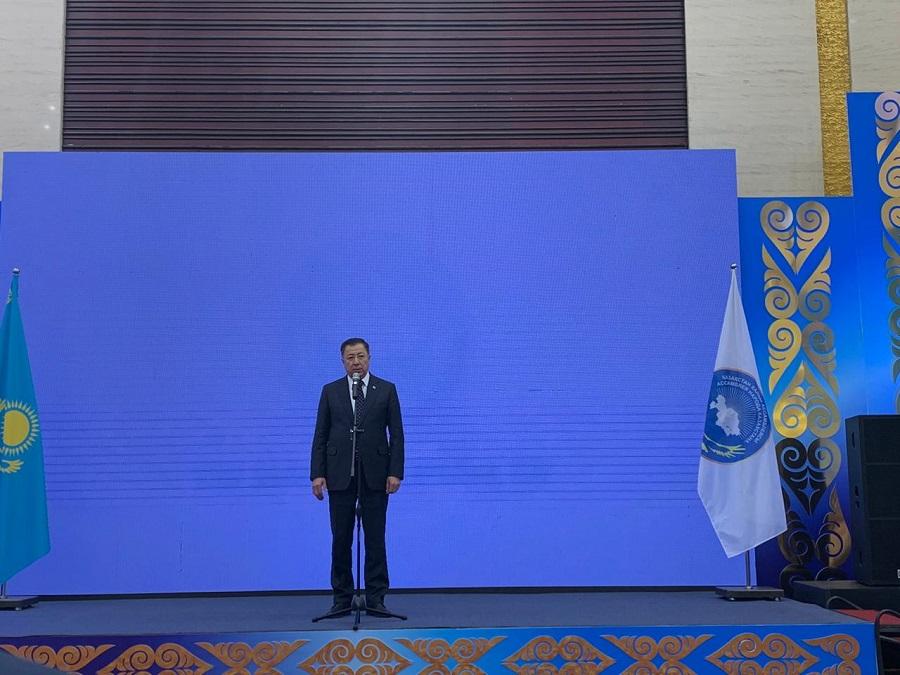 Форум «Ұлы даланың ұлтаралық тілі» проходит в столице