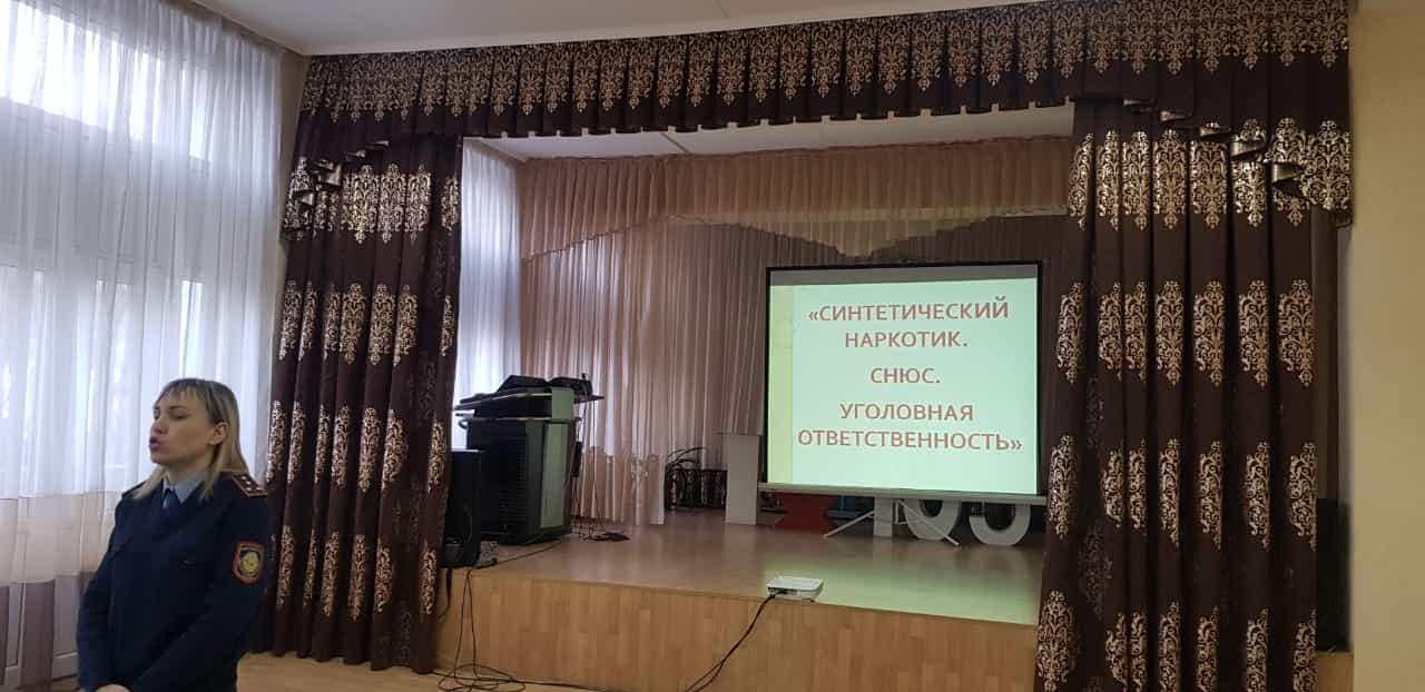 Полицейские Алматы предупреждают детей о пагубности табачных изделий