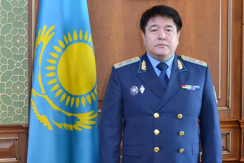 Заместитель Генпрокурора РК Булат Дембаев обратился к казахстанцам