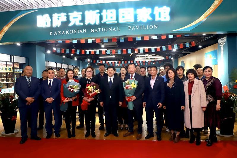 Национальный павильон Казахстана открылся в Китае