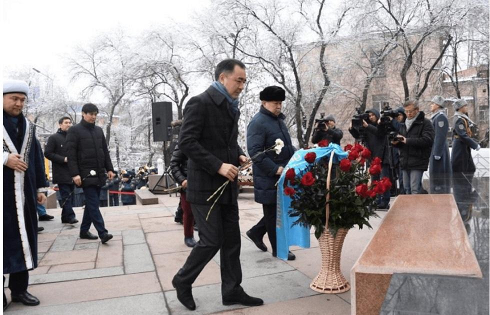 В Алматы почтили память жертв декабрьских событий 1986 года