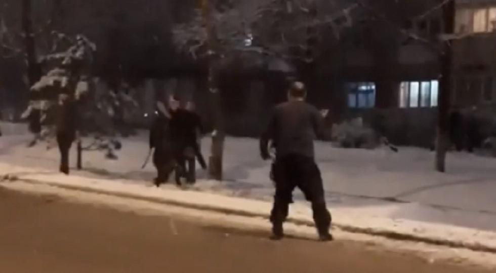 Участники жестокой драки задержаны в Алматы