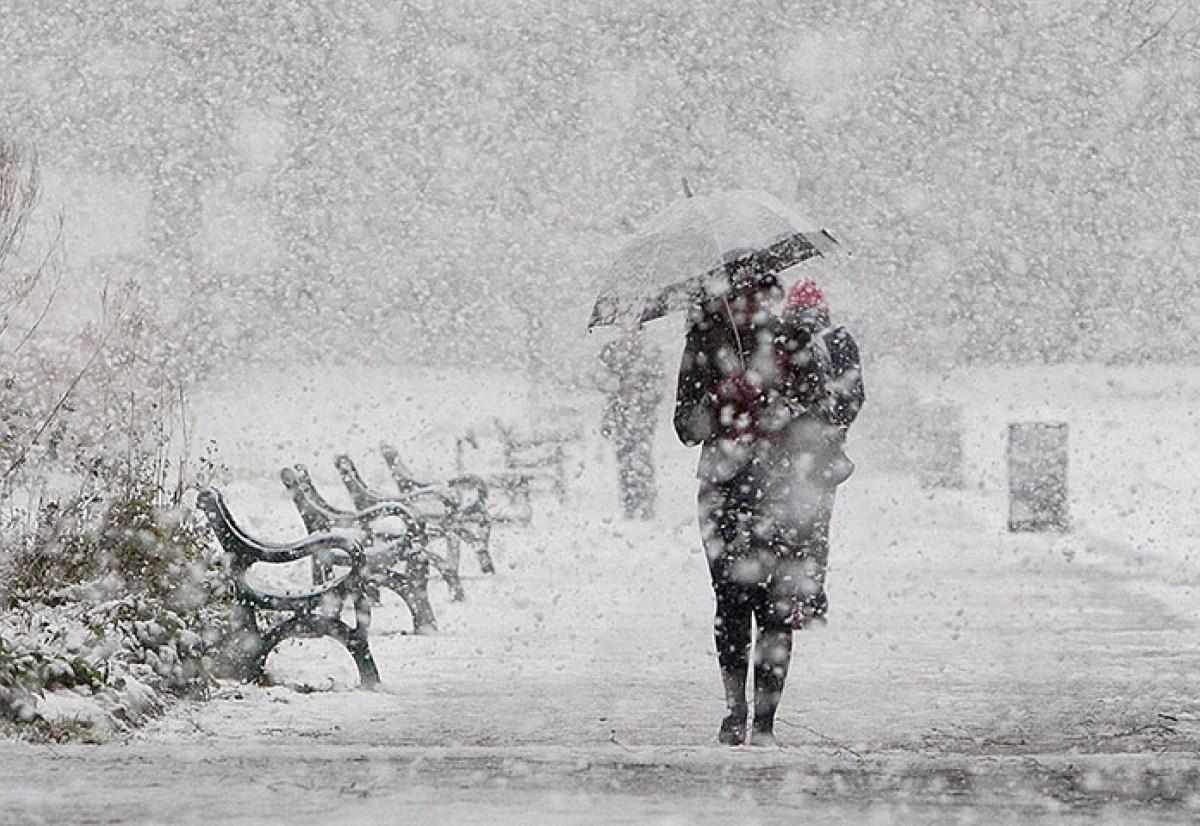 Циклон из Атлантики несет метели и снегопады – погода на 22 декабря