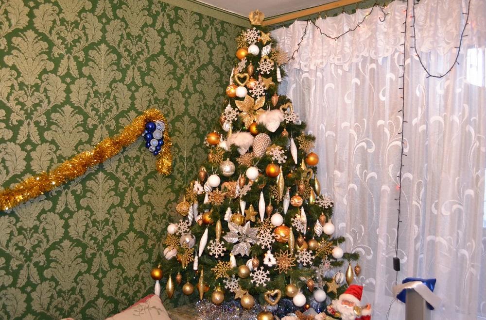 Странный вор: житель Усть-Каменогорска подарил соседке елку и украл у нее деньги
