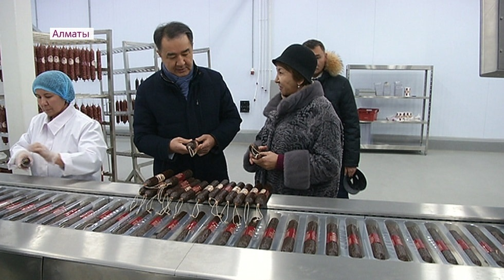 Бакытжан Сагинтаев посетил Индустриальную зону Алматы