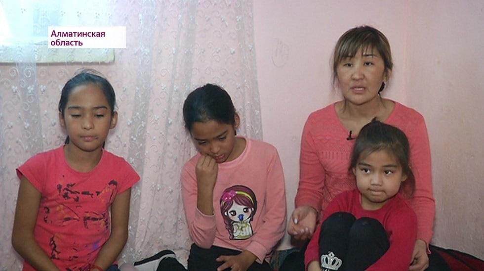 Мать пятерых детей в Алматинской области три месяца не получает АСП