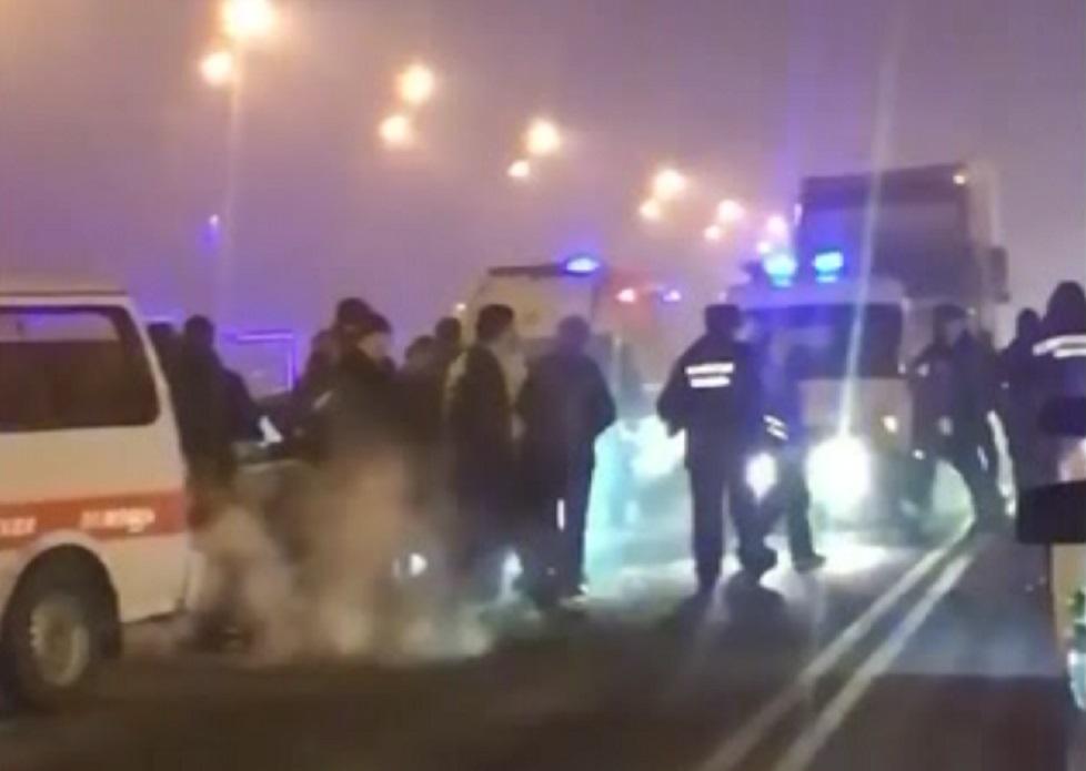 Смертельное ДТП произошло на Северном кольце в Алматы