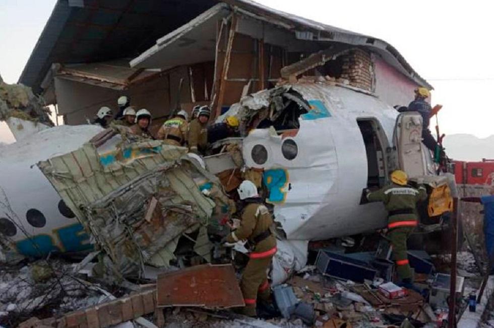 Крушение самолета в Алматы - пострадавшим срочно требуется кровь