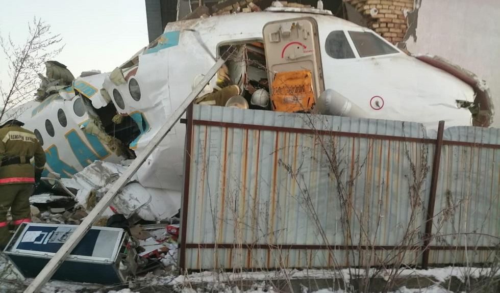 Опубликованы имена членов экипажа упавшего самолета
