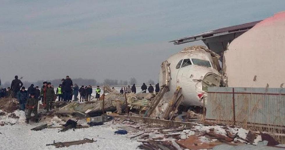 Авиакатастрофа под Алматы: Bek Air впервые выступила перед прессой