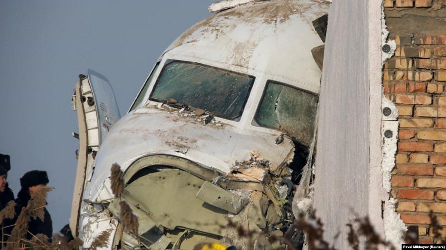 Второй пилот рухнувшего самолета пришел в себя