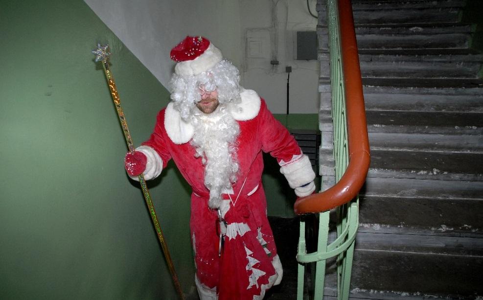 В новогоднюю ночь Дед Мороз обварил ребенка кипятком