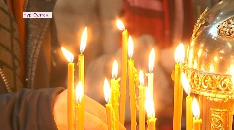 Как в Нур-Султане отметили праздник Рождества Христова