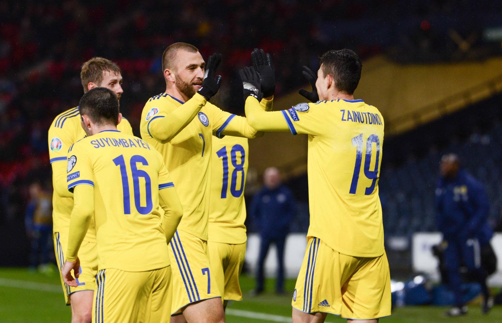 Сборная Казахстана по футболу проведет товарищеский матч со сборной Литвы