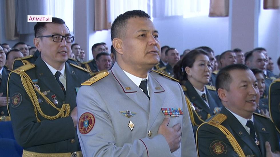 Национальной гвардии Казахстана - 28 лет