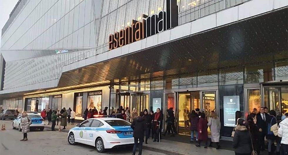 Взрывное устройство искали в Esentai Mall