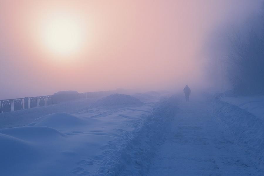 В Казахстане 13 января ожидаются метель и туман