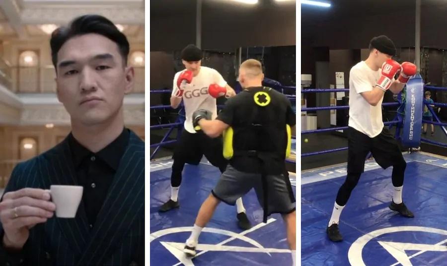 Нурлан Сабуров вышел против профессионального российского боксера