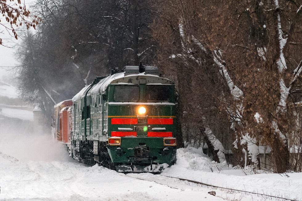 Тепловоз задавил насмерть мужчину в Павлодаре