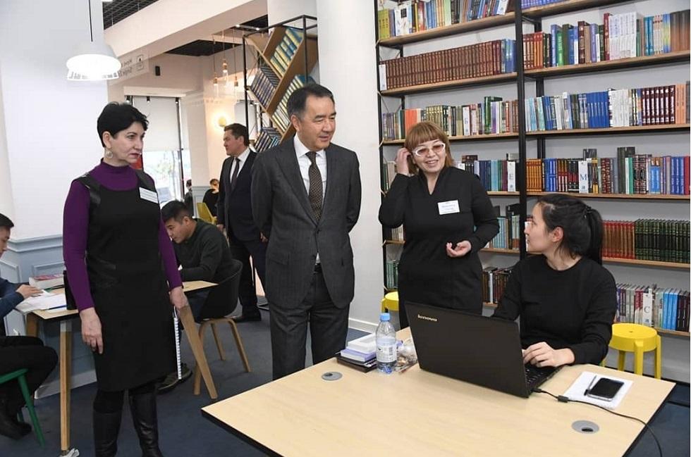10 библиотек Алматы будут модернизированы в этом году - Бакытжан Сагинтаев