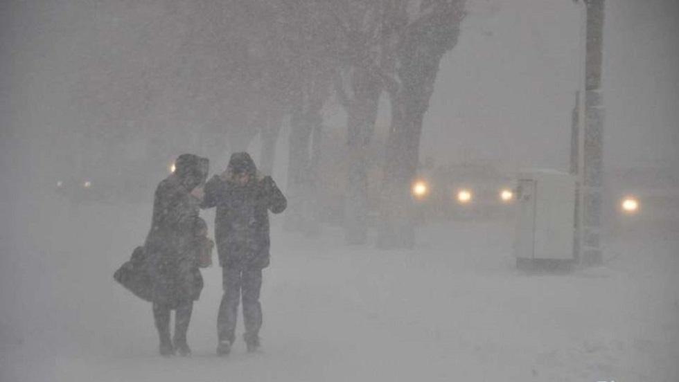 Снегопад, метель и гололедица обрушатся на Казахстан