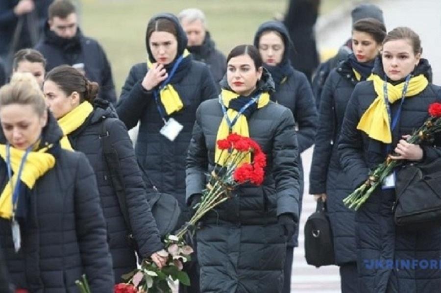 Әуе апатынан қаза тапқан украиналықтардың денесі еліне жеткізілді