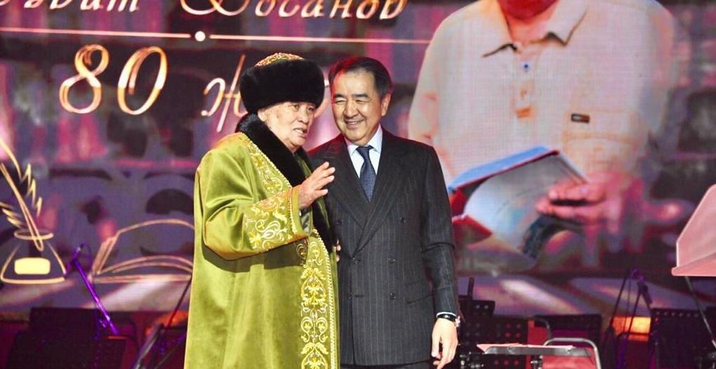 В Алматы отметили юбилей писателя Сабита Досанова