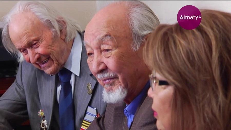 94 жастағы ҰОС ардагері мектеп оқушыларымен кездесті