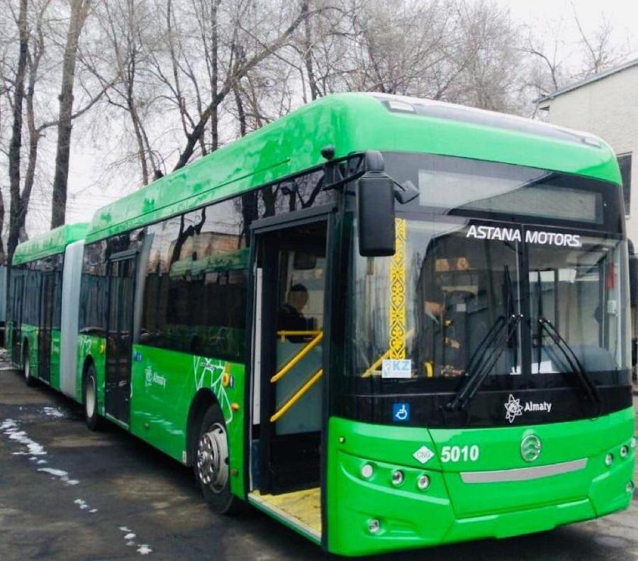 Алматыдағы №37 бағыттағы автобус 100% жаңарды