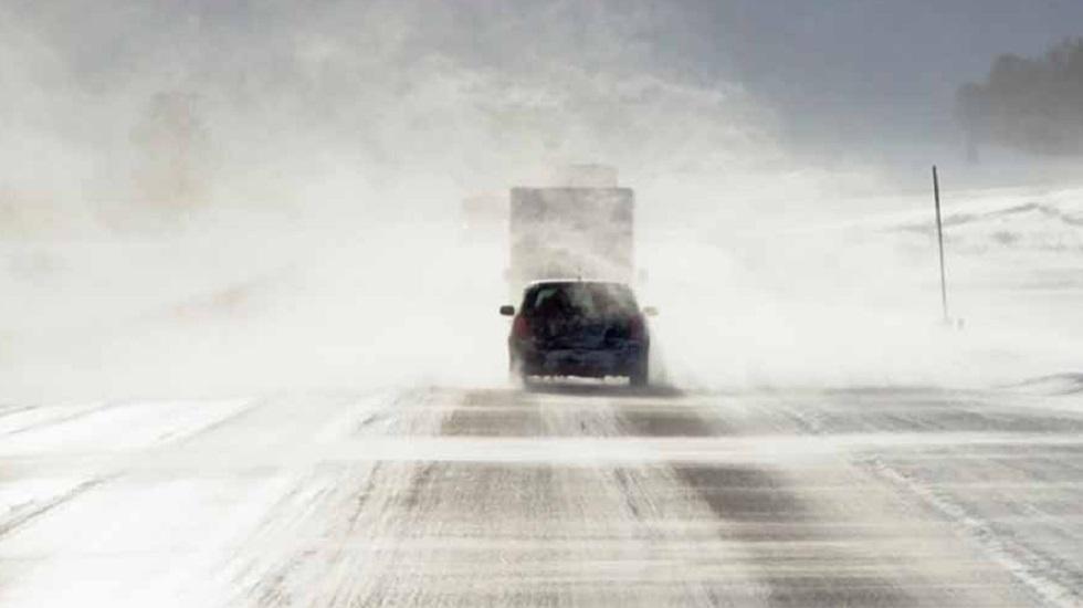 В девяти областях Казахстана закрыто движение на трассах из-за непогоды