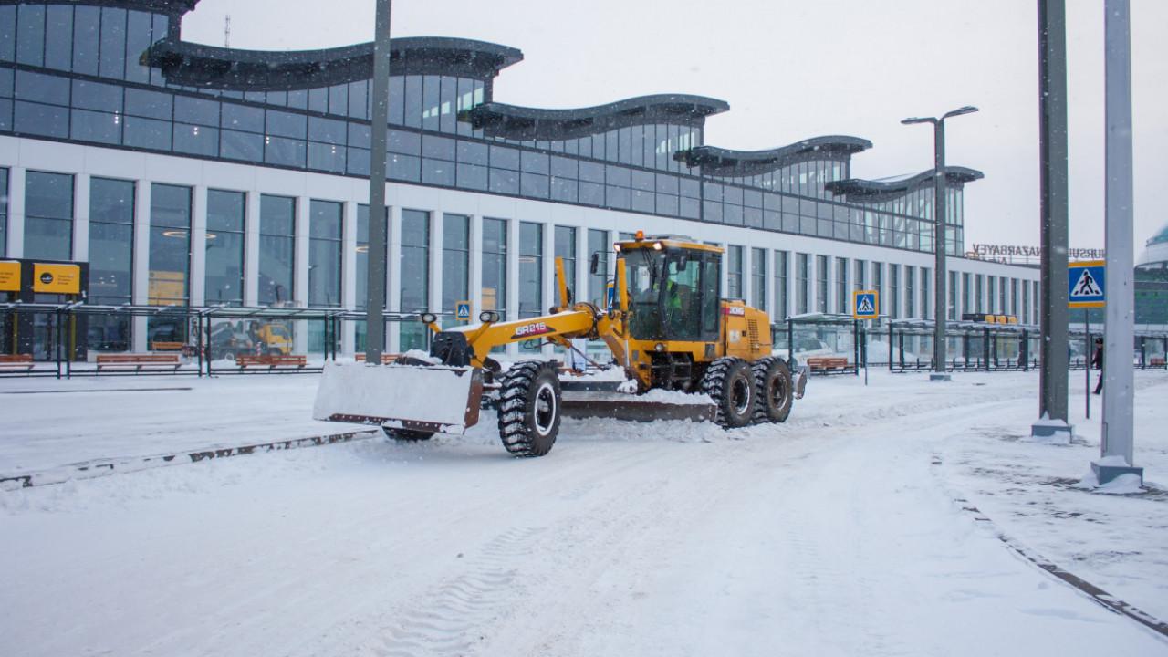 В аэропорту столицы задержаны все рейсы