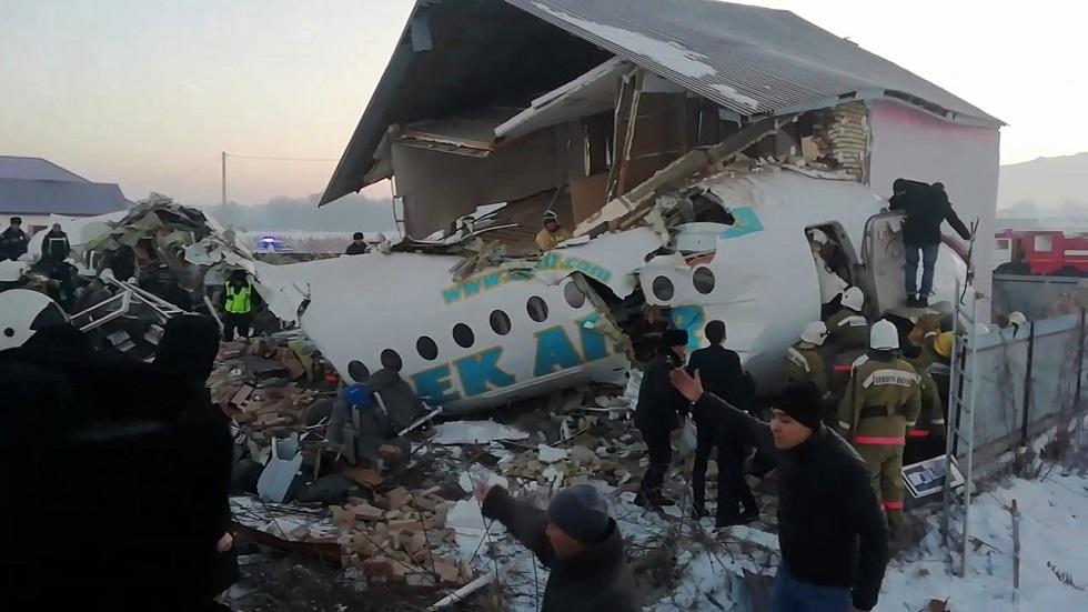 Алматы маңында құлаған Fokker-100 ұшағының екінші ұшқышы да қаза тапты