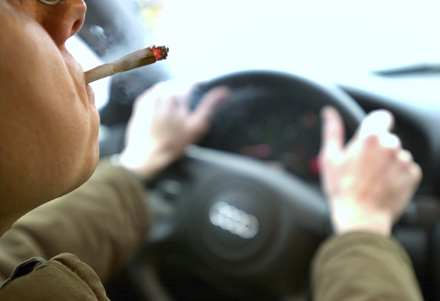 В состоянии наркотического опьянения задержали водителя в Жамбылской области