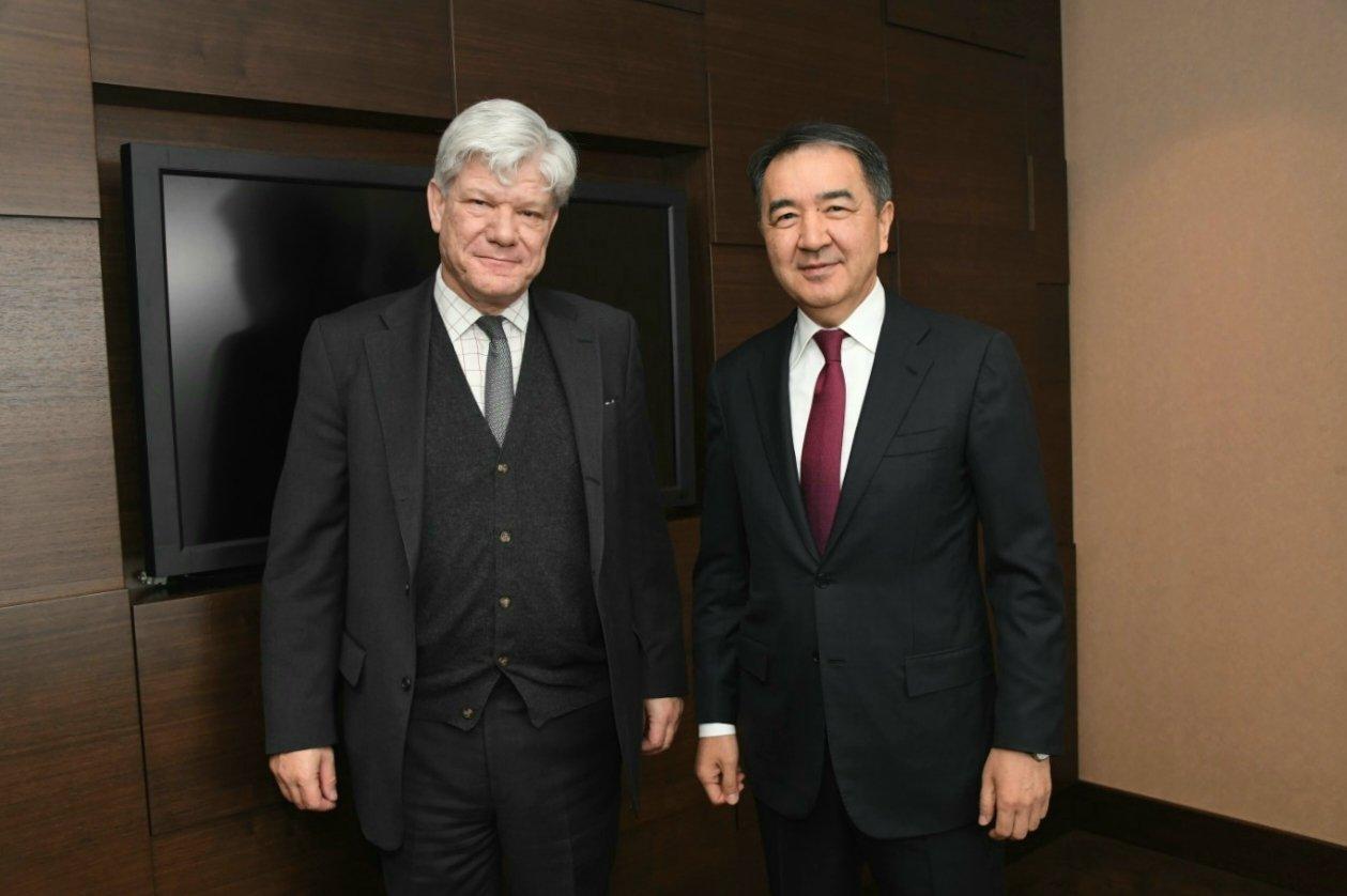 Бакытжан Сагинтаев провел встречу с заместителем Генерального секретаря ООН