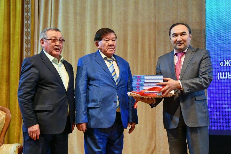 Презентация книги Мухтара Шаханова состоялась в Алматы