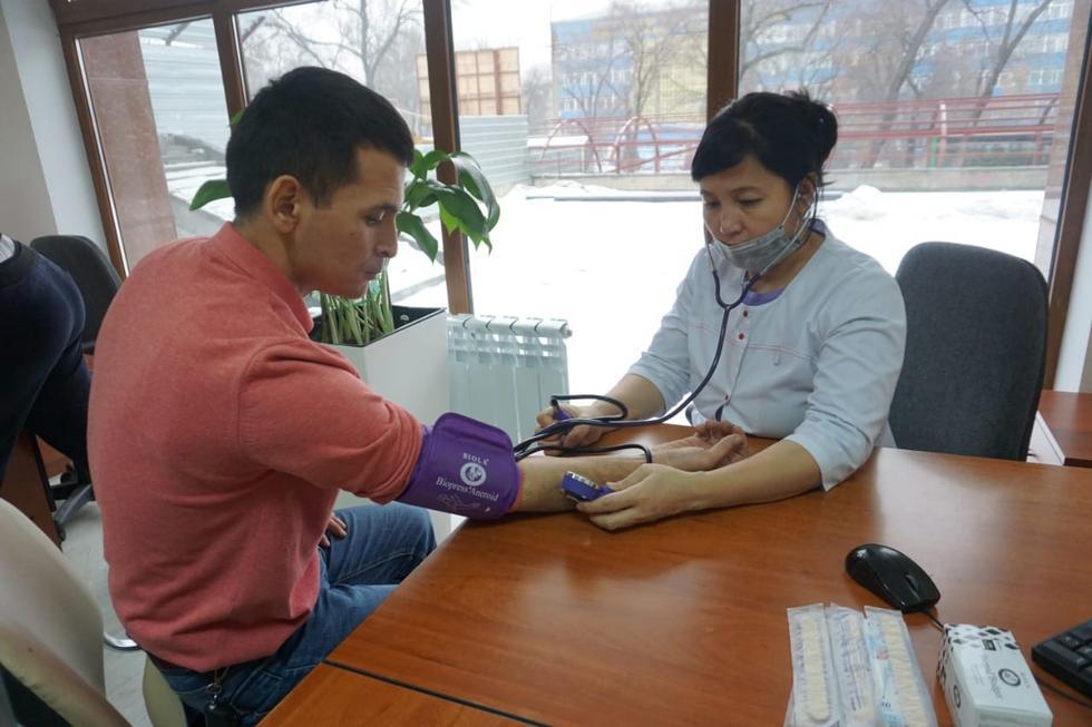 9 тыс.  жителей Ауэзовского района Алматы получат медицинскую помощь в шаговой доступности