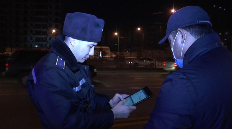 Полицейский рейд по авто без госномеров стартовал в Алматы