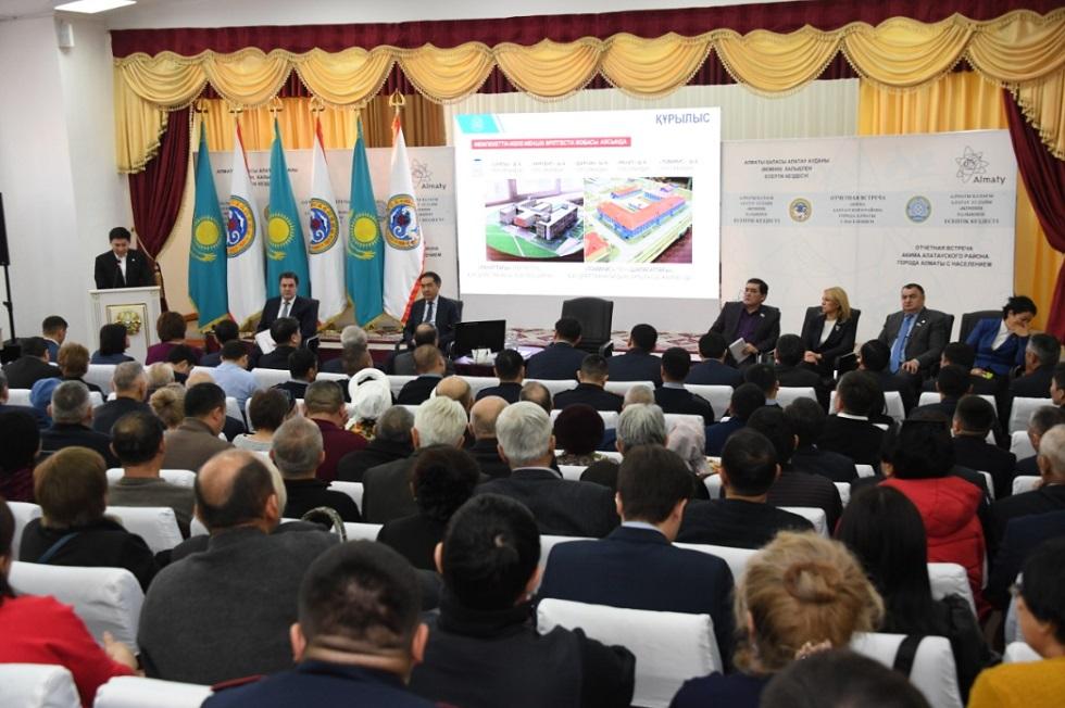 Сагинтаев: проблемные вопросы будем решать вместе