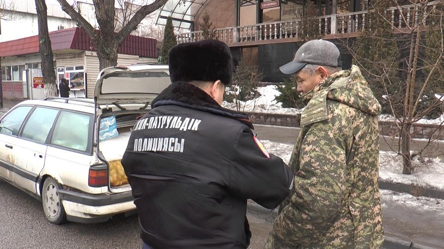 ДП: в Алматы проводятся рейды по «выделенкам»
