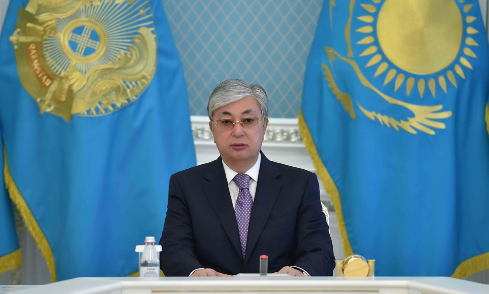 Мемлекет басшысы Қ.К. Тоқаев Жамбыл облысындағы жағдайға байланысты мәлімдеме жасады