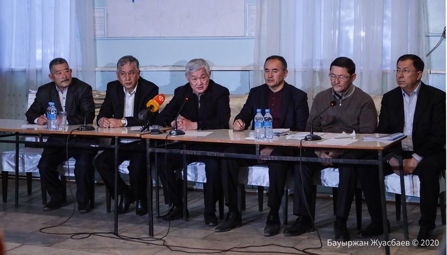 Бердибек Сапарбаев встретился с жителями Кордайского района