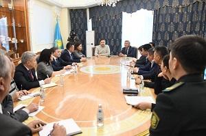 В Алматы проведены тренировочные учения по отработке противоэпидемических мероприятий по предупреждению коронавируса