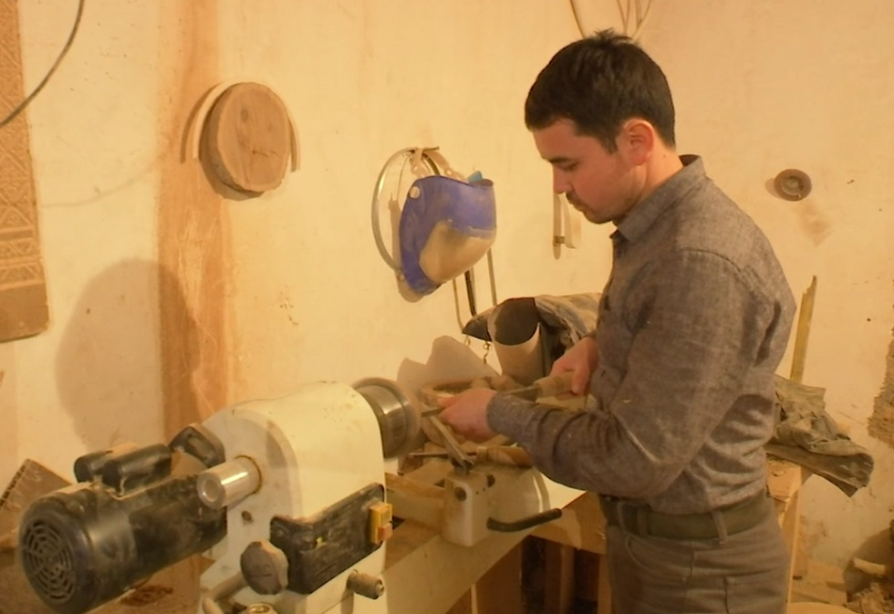 Изделия мастера из Шымкента пользуются большим спросом за рубежом
