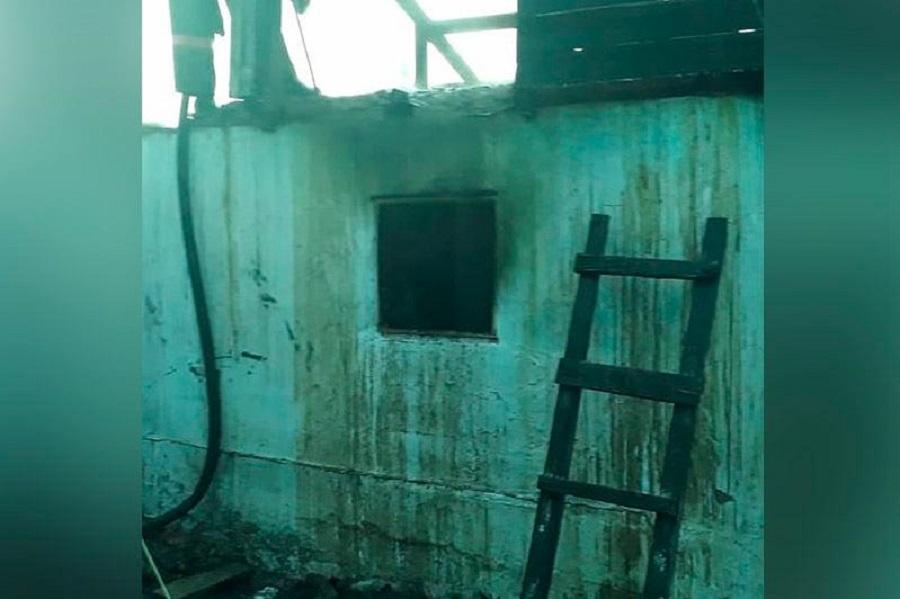 Один человек погиб во время пожара в Усть-Каменогорске