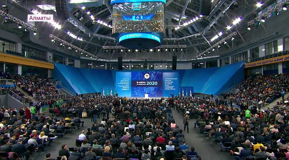 Встреча населения с акимом Алматы: мнения выразили представители интеллигенции и общественные деятели