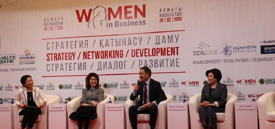 Женщины Алматы возглавляют 45% субъектов малого и среднего бизнеса в городе