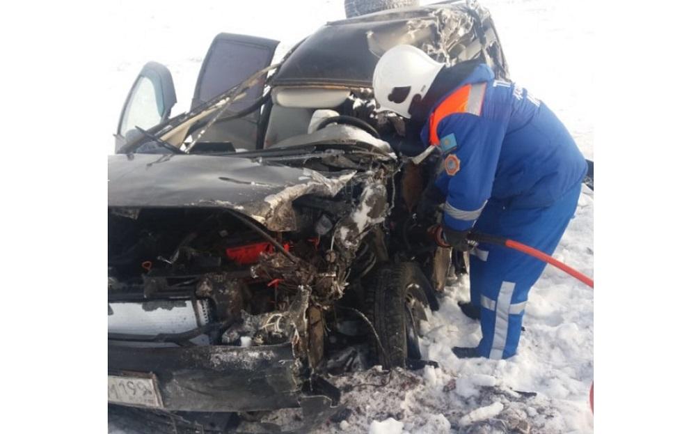 Жуткое ДТП на трассе в Актюбинской области: погибли четыре человека