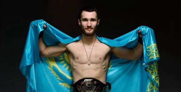 Третий боец из Казахстана подписал контракт с UFC