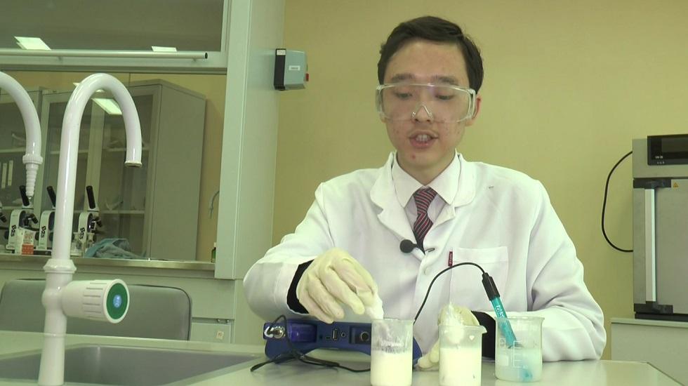 Петропавлдық оқушы азық-түлік сапасын анықтауға қабілетті биоиндикатор ойлап тапты