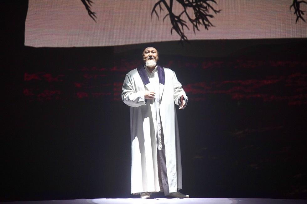 Великая поэзия и музыка Абая:  необычный вечер к юбилею мыслителя состоялся во Дворце Республики